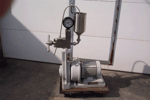 For Sale: Gaulin Lab Homogenizer