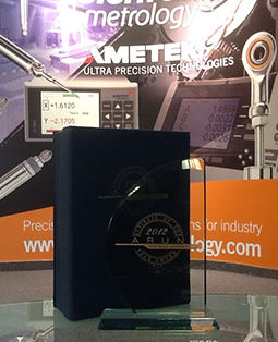 Ametek Solartron win 2012 Business Community Award