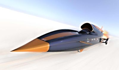 Solartron Metrology sponsors the Bloodhound SSC Supersonic Car