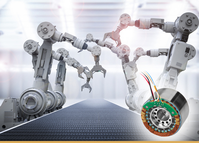 BEI Kimco Meets Challenging Robotics Application Requirements with High Torque Density Designs