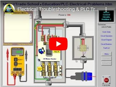 PLC & Electrical Troubleshooting Certificate Course
