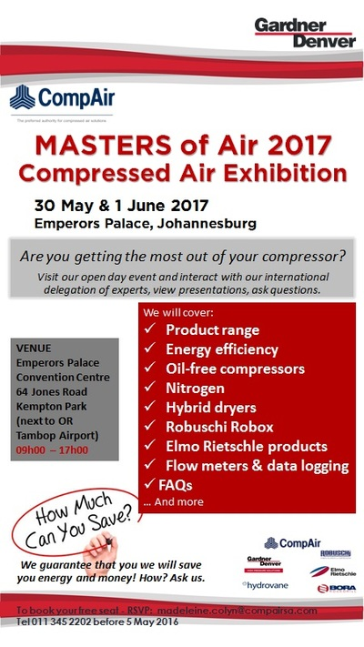 MASTERS of Air 2017 - a compressed air exhibition