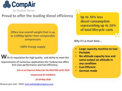 Proud to offer the leading diesel efficiency