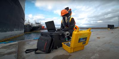 Cygnus Mini ROV Success in Collaboration with Deep Trekker