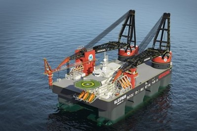 Danfoss helps launching the worlds' biggest crane ship