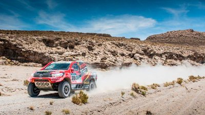 Donaldson filters ensure seamless Dakar