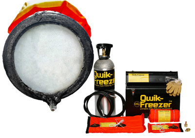 Freeze Sealing for Pipe Repairs with Qwik-Freezer™