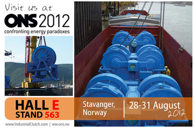 Industrial Clutch Parts Exhibiting at the ONS Oil & Gas Show in Norway