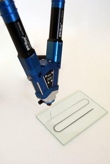 Precision mixing and dispensing from Intertronics facilitates miniaturisation