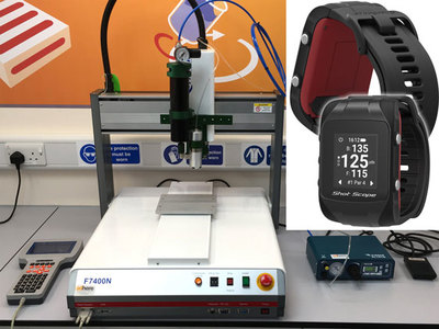 Automated sealant dispensing proves a winner for innovative golfing product