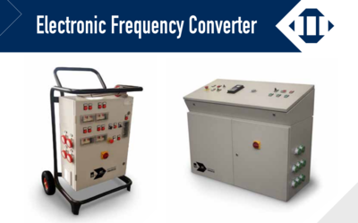 Electronic Frequency Converters for precast and construction plants
