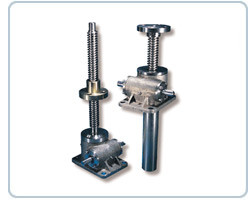 New Stainless Steel Screw Jacks for Linear Motion