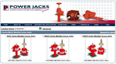 Power Jacks Launch Online 3D CAD Product Configurator