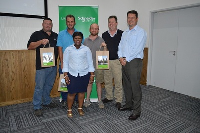 Schneider Electric announces the Gauteng Win-A-Trailer winners