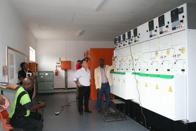 Schneider Electric Premset installation upgrades Limpopo substation