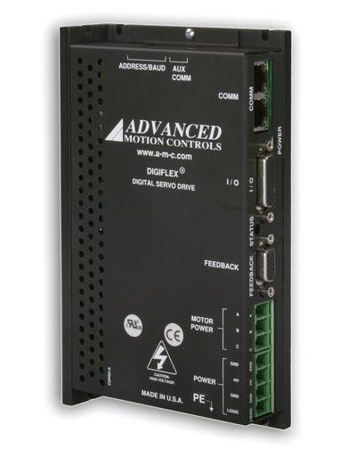 CANopen Brushless Servo Amplifiers establish a new benchmark in versatility