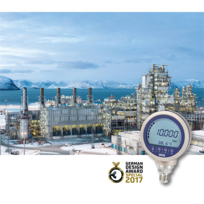CPG1500: High pressure range, mobile app and German Design Award