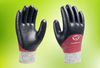 Aquila® RE05F industrial glove – cut resistant level 5 with double coated foam nitrile