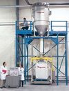 Pneumatic Weigh Filling System Conveys, Weighs & Discharges